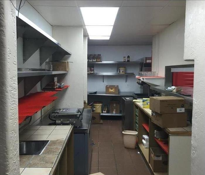 Commercial kitchen cleaned and fully restored